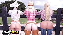 bangbros on the dude ranch with rachel starr karen fisher and marissa