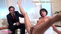 milf shows her bizarre pussy for andrea dipre